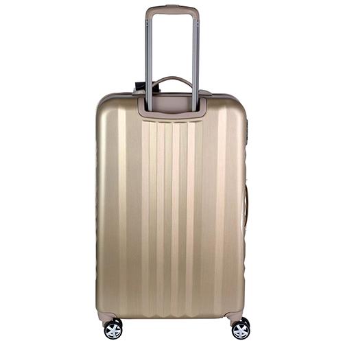 Большой чемодан 75х30х47см March Fly золотого цвета для путешествий, фото