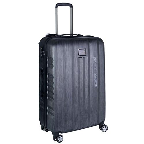 Большой серый чемодан 75х30х47см March Fly с замком блокировки TSA, фото