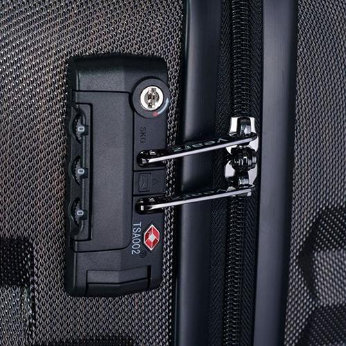 Маленький чемодан 55х35х20см March Fly серого цвета для путешествий, фото