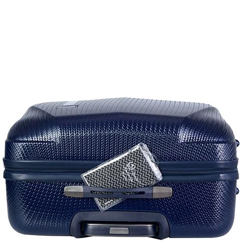 Среднего размера cиний чемодан 68x26x46см March Jersey для путешествий, фото