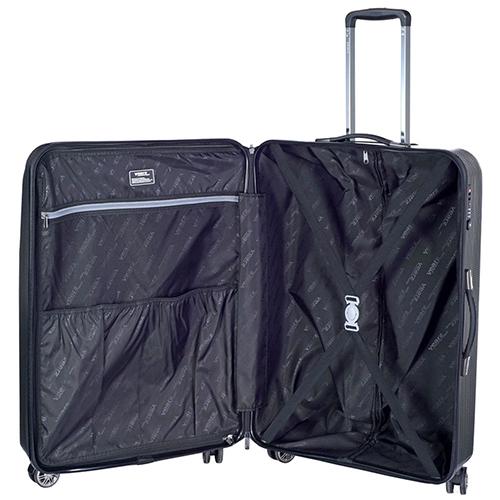 Чемодан среднего размера 68x26x46см March Jersey с черным корпусом, фото