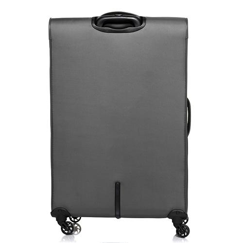 Большой дорожный чемодан 78х48х29-32см Roncato Speed  цвета антрацит, фото