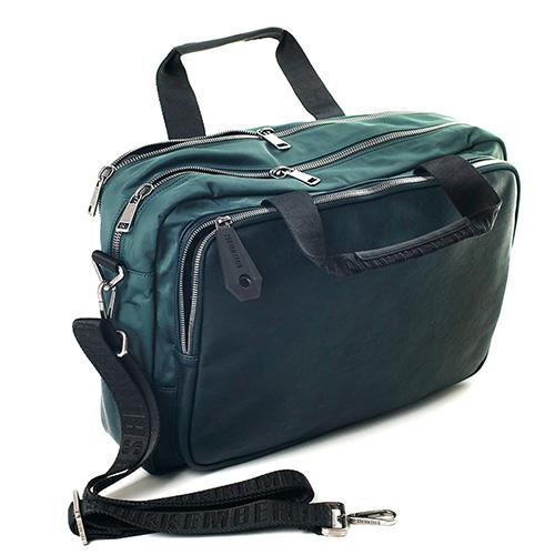 Дорожная сумка Bikkembergs зеленого цвета, фото