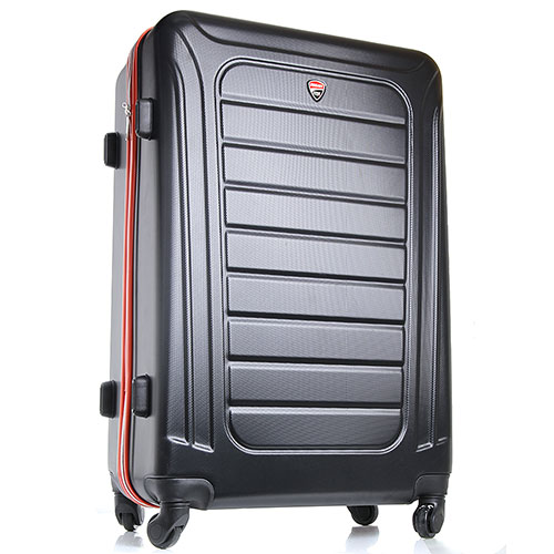 Средний чемодан 57x40x22см Ducati черного цвета, фото