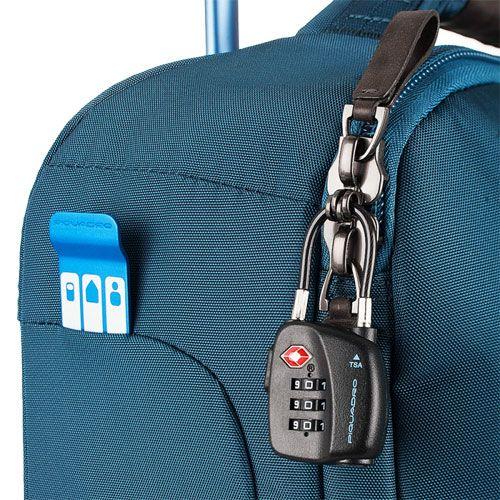 Дорожная сумка Piquadro с тележкой Nimble красная, фото