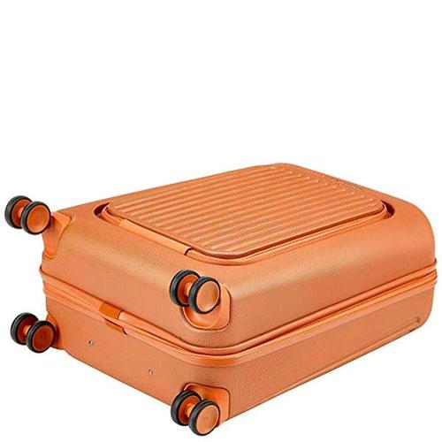 Чемодан Piquadro Seeker 55х40х24см оранжевого цвета, фото