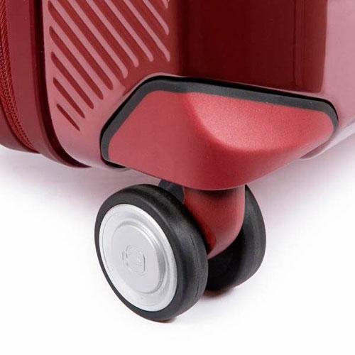 Дорожный чемодан Piquadro Cubica 55х40х20см красного цвета, фото