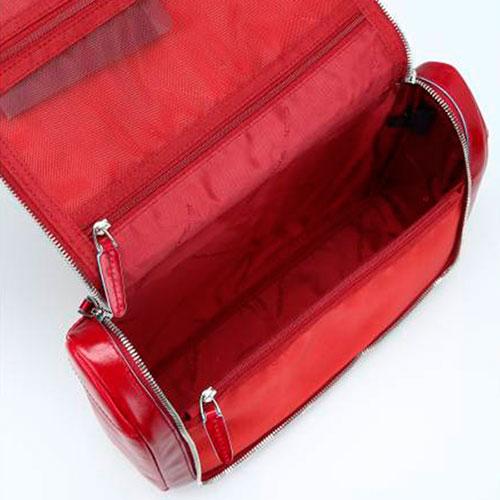 Бьюти-кейс Piquadro Blue Square 20х30х12см красного цвета, фото
