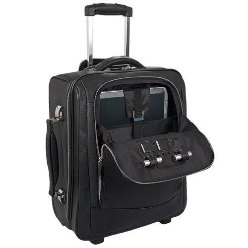Дорожная сумка Piquadro с отделение для ноутбука Modus черная, фото