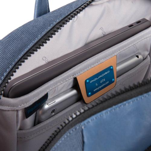 Синий рюкзак Piquadro Blade с одним отделением, фото