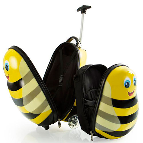 Набор Heys Travel Tots Bumble Bee чемодан и рюкзак, фото