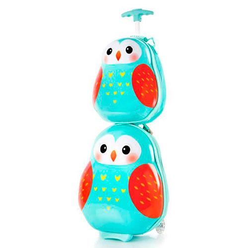 Набор детский Heys Travel Tots Owl чемодан и рюкзак, фото
