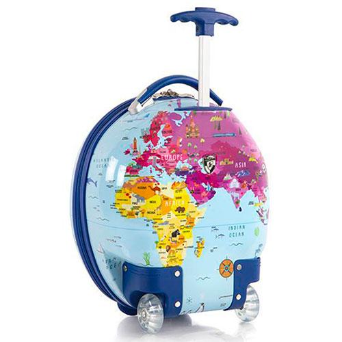 Маленький чемодан Heys Journey World Map для детей, фото