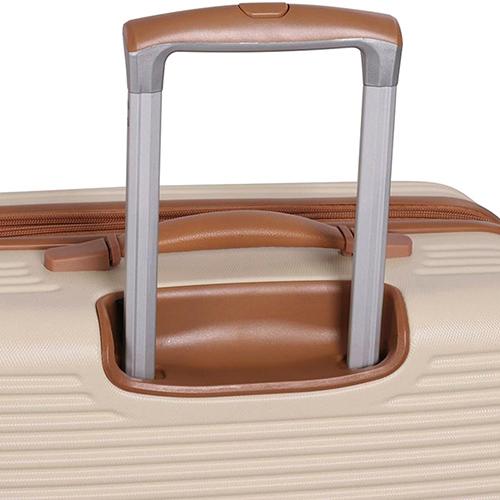 Бежевый чемодан IT Luggage Valiant Cream 71х49х30см, фото
