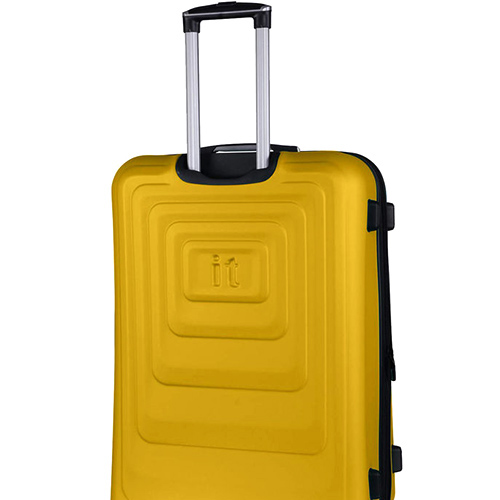 Желтый чемодан IT Luggage Mesmerize Old Gold 55х36х26см, фото