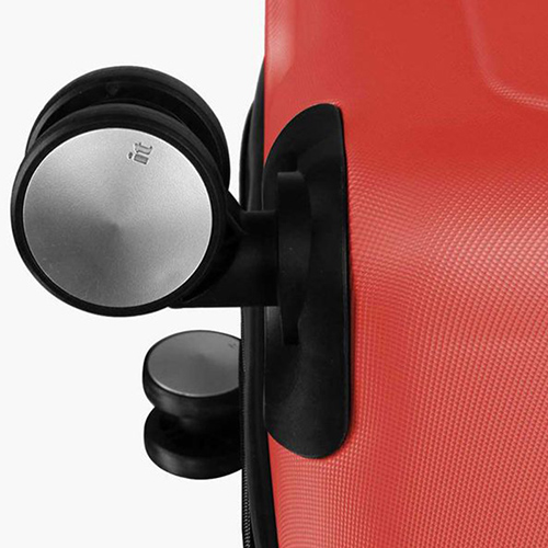 Красный чемодан IT Luggage Mesmerize Cayenne 55х36х26см, фото