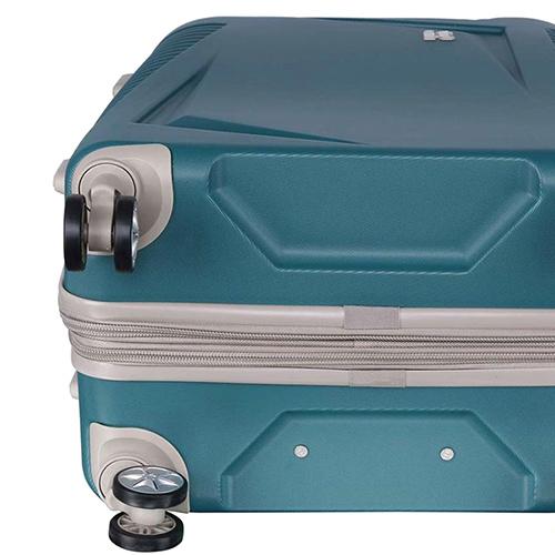 Голубой чемодан IT Luggage Outlook Bayou 55х35х23см, фото