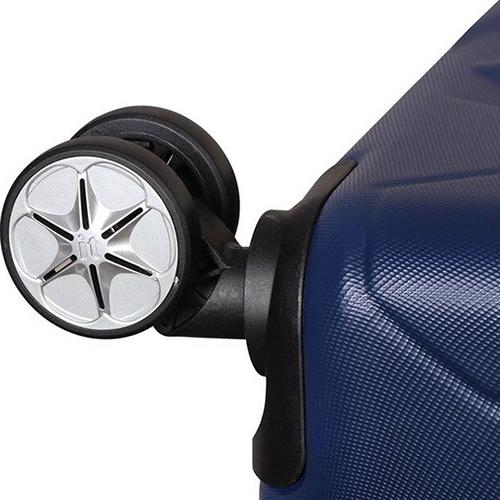 Синий чемодан IT Luggage Hexa Blue Depths 81х55х34см, фото