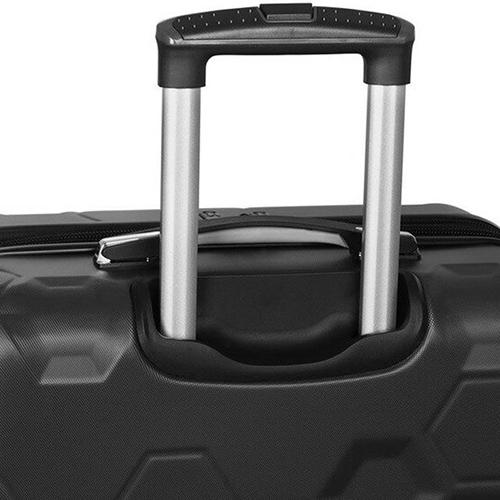 Черный чемодан IT Luggage Hexa Black 71х49х29см, фото