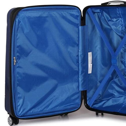 Синий чемодан IT Luggage Hexa Blue Depths 55х35х23см, фото