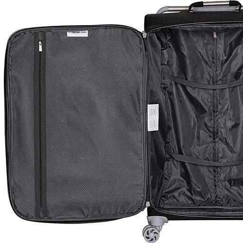 Черный чемодан IT Luggage New York Raven 80х47х26см, фото