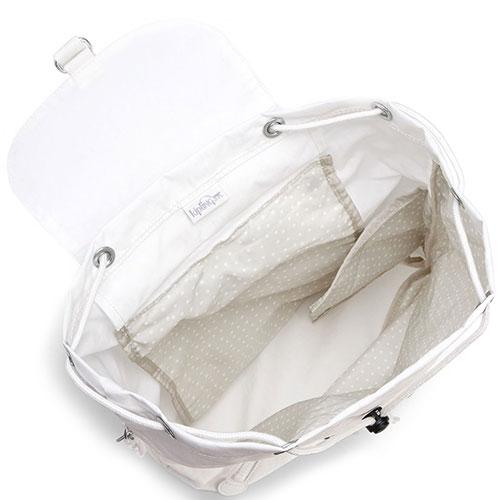 Женский белый рюкзак Kipling New Classics Fundamental Nc, фото