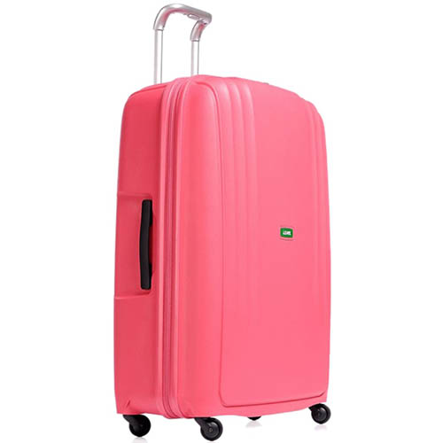 Вместительный розовый чемодан 56x82,5x32см Lojel Streamline большого размера на колесиках, фото