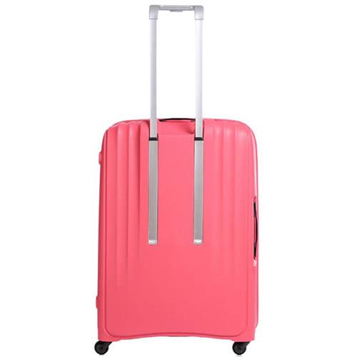 Большой чемодан 49х71х29,2см Lojel Streamline на колесиках розового цвета, фото