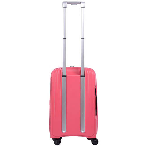 Маленький розовый чемодан 35х55х23,5см Lojel Streamline с выдвижной ручкой на колесиках, фото