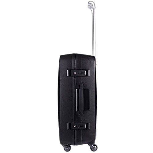 Черный дорожный чемодан 43,6x64,8x26,8см Lojel Octa средних размеров на колесиках, фото