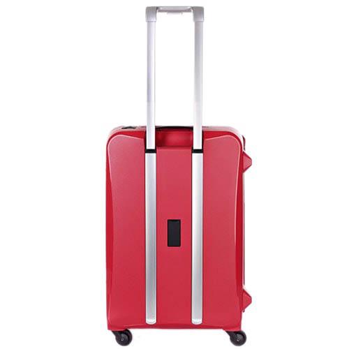 Средний чемодан 43,6x64,8x26,8см Lojel Octa красного цвета на сдвоенных колесиках, фото