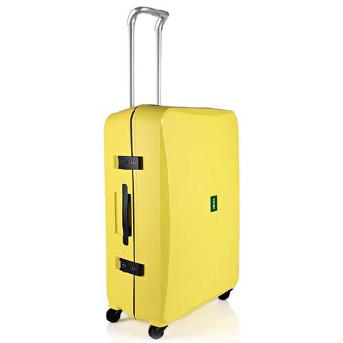 Желтый чемодан 43,6x64,8x26,8см Lojel Octa среднего размера с выдвижной телескопической ручкой, фото