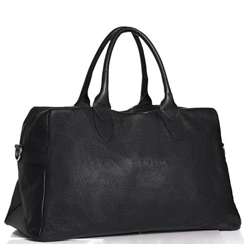 Дорожная сумка Di Gregorio черного цвета, фото