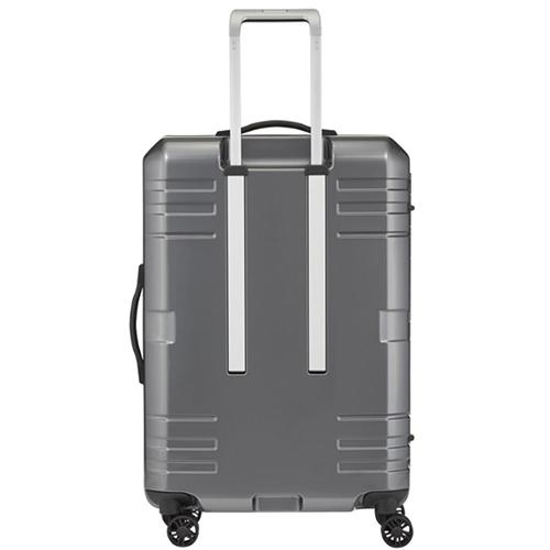 Серый чемодан 69x46x28см Titan Prior среднего размера с точечной системой закрытия, фото