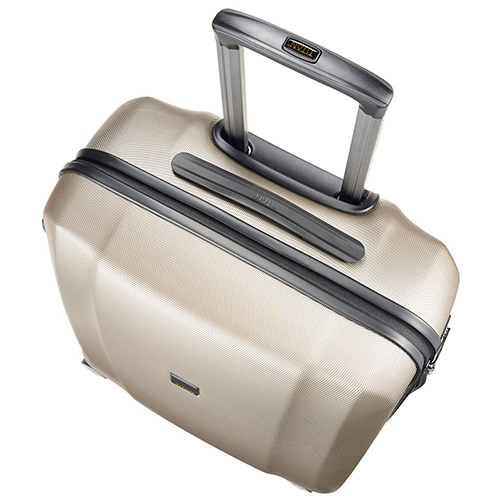 Среднего размера ударопрочный чемодан 67x46x28см Titan Xenon бежевого цвета, фото