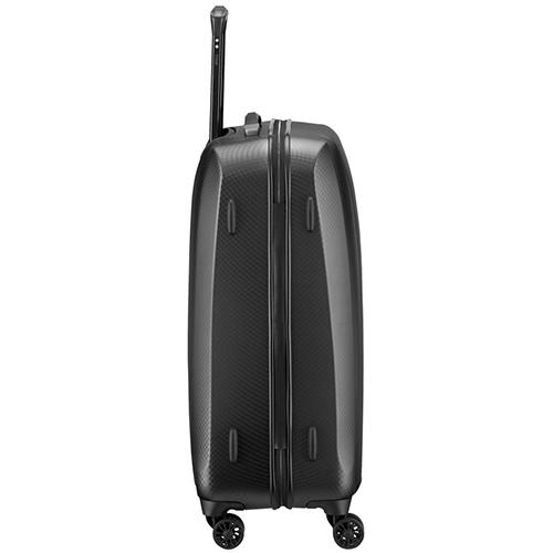 Темно-серый чемодан 67x46x28см Titan Xenon Deluxe в дизайне под акулью кожу, фото