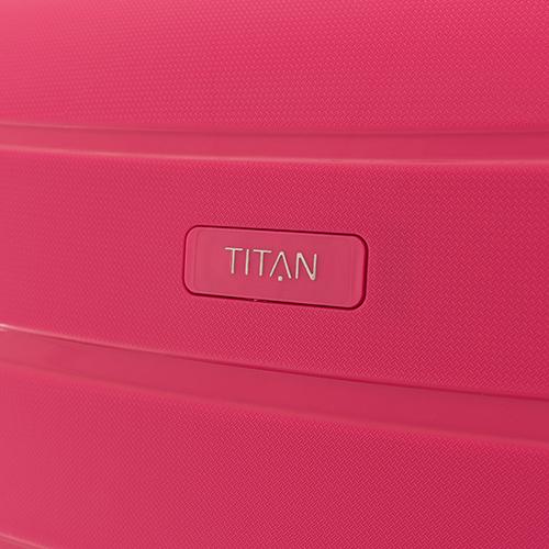 Большой чемодан 77х51x29см Titan Limit с телескопической ручкой, фото