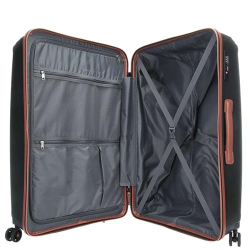 Дорожный чемодан 51x71x31см Titan Paradoxx черного цвета, фото