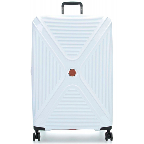 Чемодан белого цвета 51x71x31см Titan Paradoxx с тележкой, фото