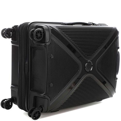 Черный чемодан 45x68x28см Titan Paradoxx с телескопической ручкой, фото