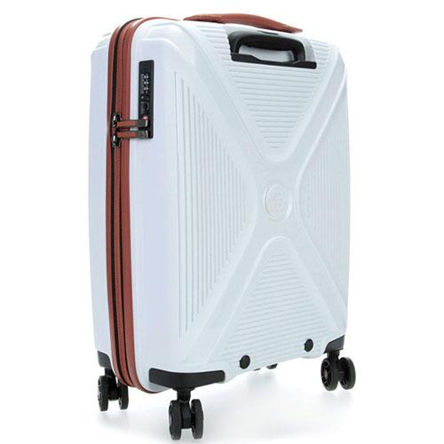 Белый дорожный чемодан 40x55x20см Titan Paradoxx, фото