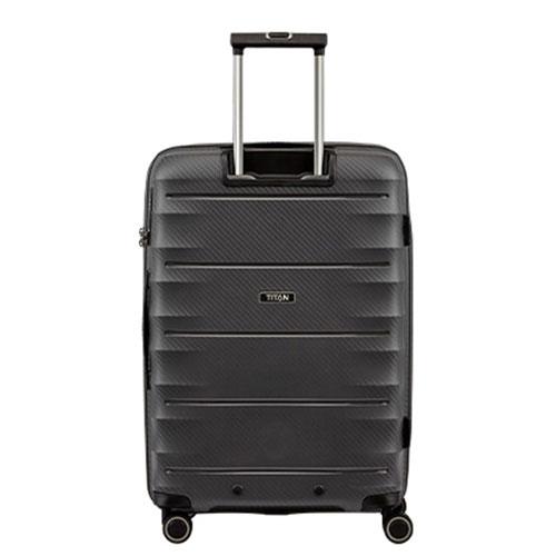 Средний чемодан Titan Highlight серый, фото
