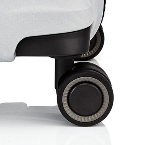 Маленький чемодан 40x55x20см Titan Highlight белый, фото