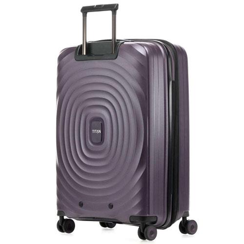 Средний чемодан 45x67x27-31см Titan Looping фиолетовый, фото