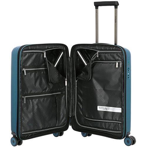 Маленький чемодан 39x55x20см Titan Looping синий, фото