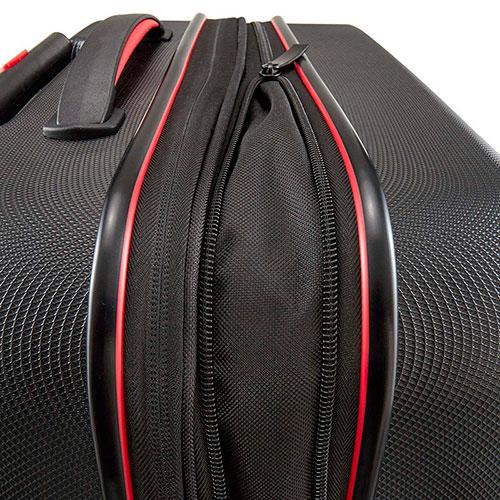 Чемодан большой Travelite Vector черного цвета 45x70x27/31см, фото