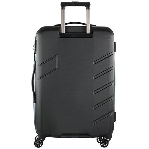 Чемодан черного цвета 76x50х28см Travelite Tourer с корпусом из полимера, фото
