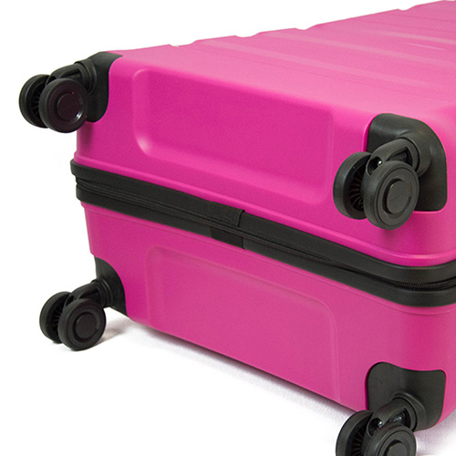 Чемодан среднего размера 45x67x27-31см Travelite Kosmos розового цвета, фото