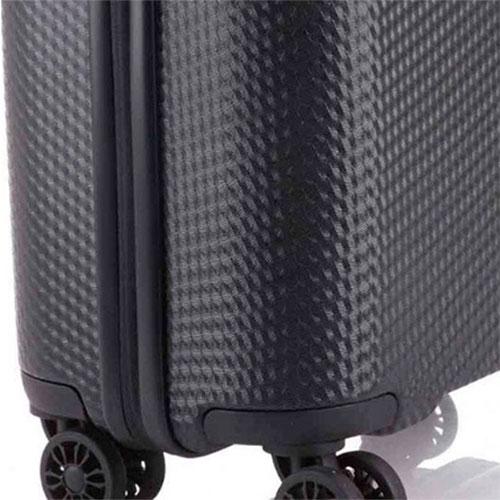 Маленький черный чемодан Travelite Skywalk 40x55x20см, фото