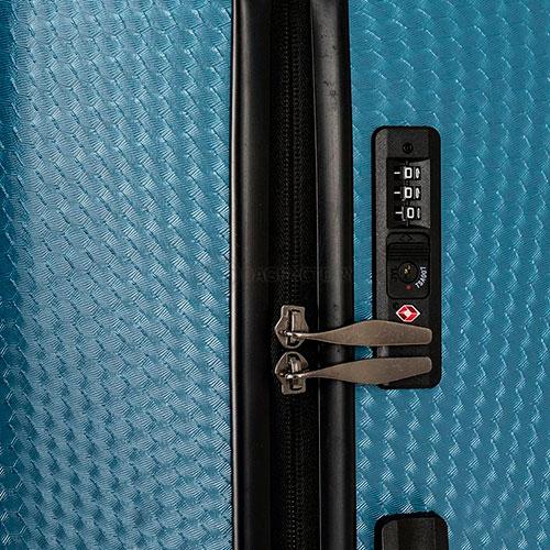 Большой чемодан Travelite Skywalk синего цвета 50x76x31см, фото